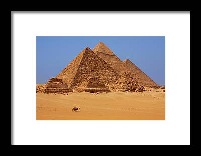 Pyramid Framed Prints