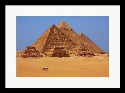 Pyramids Framed Prints