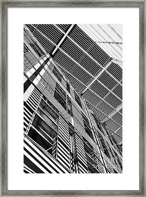 The Quadrant Framed Print by Tim Gainey