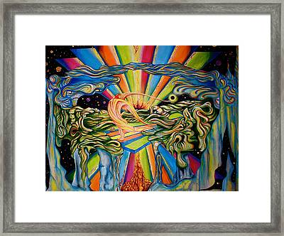 The Quantum Awakening Framed Print