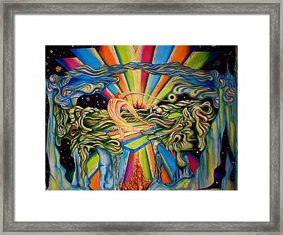 The Quantum Awakening Framed Print by Ben Christianson