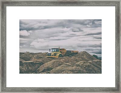 The Quarry Framed Print