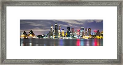 The Quay Framed Print by Mark Lucey