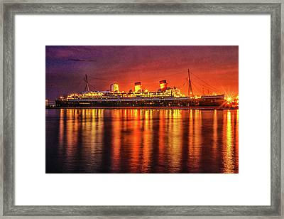 The Queen Mary Framed Print
