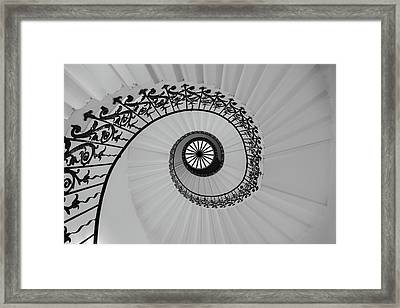 The Queens House Framed Print