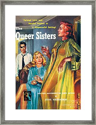 The Queer Sisters Framed Print