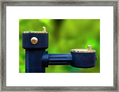 The Quencher Framed Print