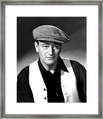 The Quiet Man, John Wayne, 1952 Framed Print