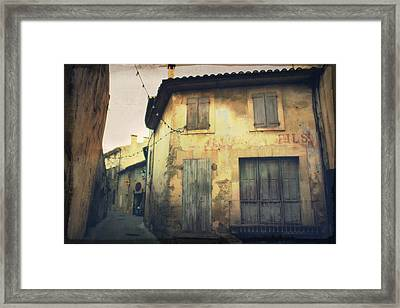 The Quiet Time Framed Print by Alison Stevenson