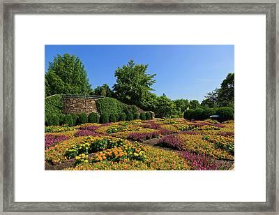The Quilt Garden Framed Print