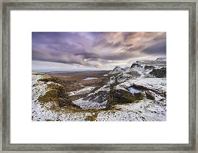 The Quiraing 1 Framed Print by Rod McLean