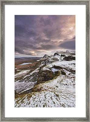 The Quiraing 2 Framed Print by Rod McLean