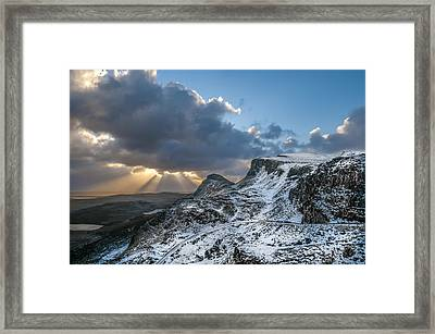 The Quiraing Just After Dawn Framed Print