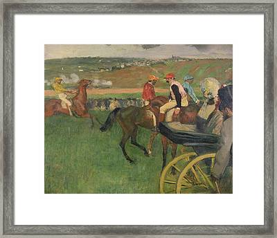 The Race Course Framed Print