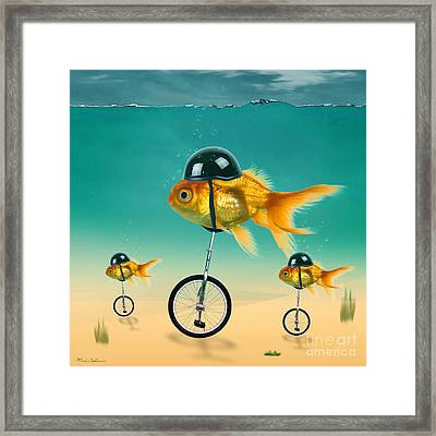 The Race  Framed Print by Mark Ashkenazi