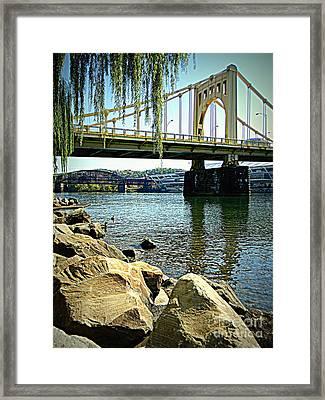 The Rachel Carson Bridge, Pittsburgh, Pa  Framed Print