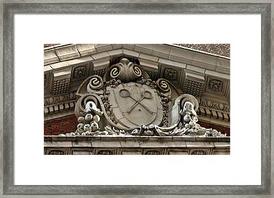 The Racquet Club Of Philadelphia 215 S 16th St Philadelphia Pennsylvania 19102 Framed Print by Duncan Pearson