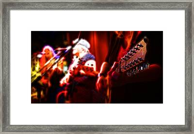 Framed Print featuring the photograph The Radiant Musicians by Cameron Wood