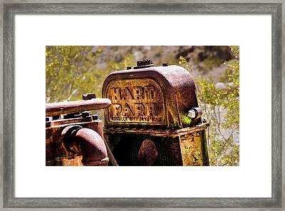 The Radiator Framed Print