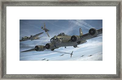 The Ragged Irregulars Framed Print by Robert Perry