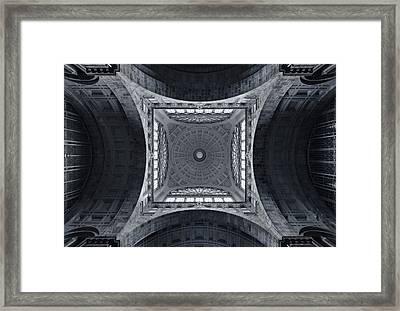 The Railroad Cathedral Framed Print by Jeroen Van De Wiel