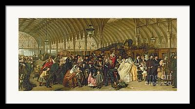Londoners Framed Prints