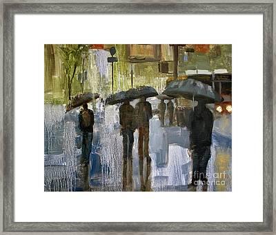 The Rain Came Framed Print
