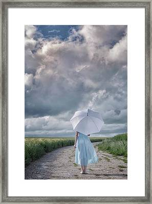 The Rain Is Coming Framed Print