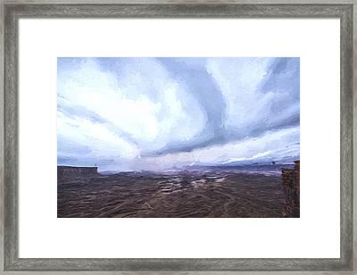 The Rain Keeps Coming II Framed Print