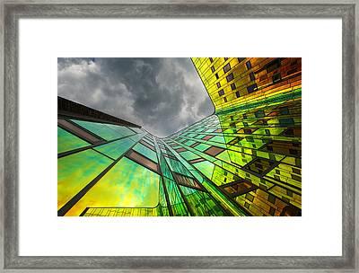 The Rainbow Framed Print by Gerard Jonkman
