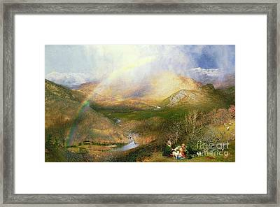 The Rainbow Framed Print