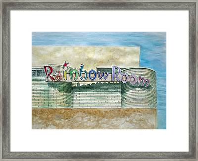 The Rainbow Room Framed Print