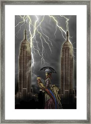 The Rainmaker Framed Print by Larry Butterworth