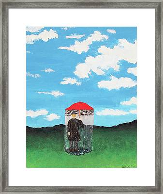 The Rainmaker Framed Print