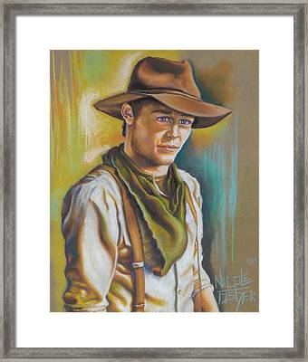 The Ranch Hand  Framed Print by Nicole Fisher