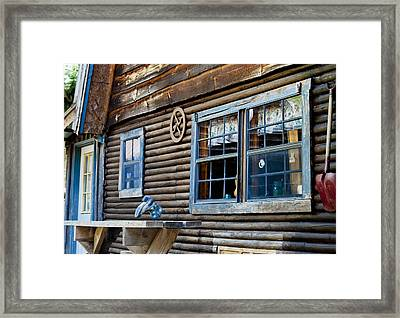 The Ranch House Framed Print