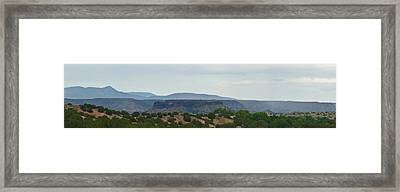 The Range Framed Print by James Granberry