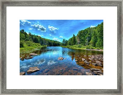 The Raquette River Headwaters Framed Print