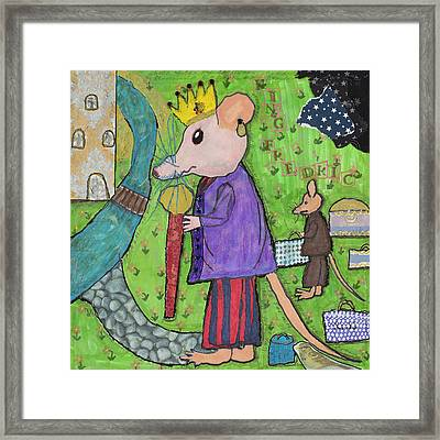 The Rat King Framed Print