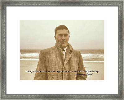 The Rat Pack Quote Framed Print by JAMART Photography