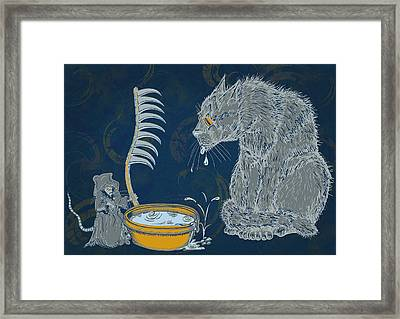 The Rat Reaper Framed Print by Laura Brightwood