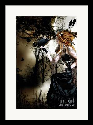 The Ravens Framed Prints