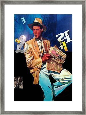 The Reader Framed Print by Jose Roldan Rendon