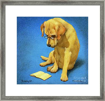 The Reading Lab... Framed Print