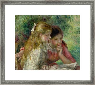 The Reading Framed Print