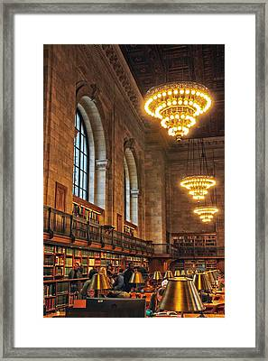 Framed Print featuring the photograph The Reading Room by Jessica Jenney