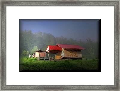 The Real Barn Girls Framed Print