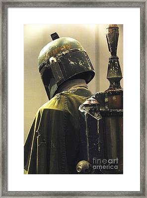 The Real Boba Fett Framed Print