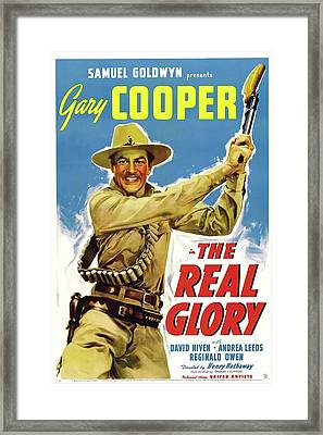 The Real Glory 1939 Framed Print by Mountain Dreams