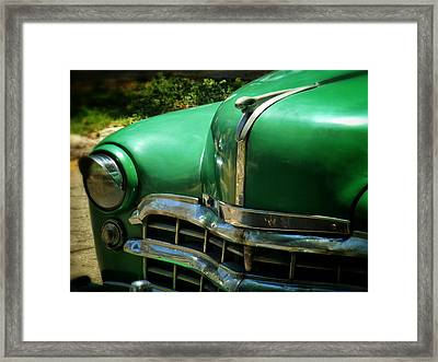 The Real Green Machine Framed Print